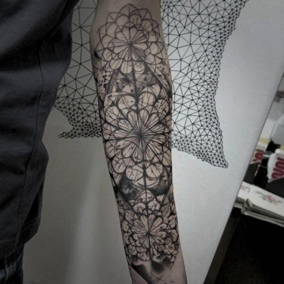 tatuajes fractales 13
