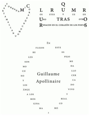caligramas 8