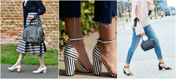ways to wear block heels 2