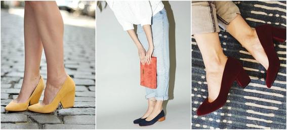 ways to wear block heels 3