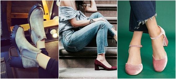 ways to wear block heels 9