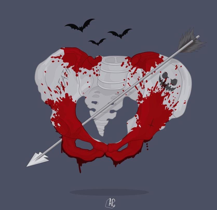 Ilustraciones de Álvaro Castro sobre corazones rotos 2