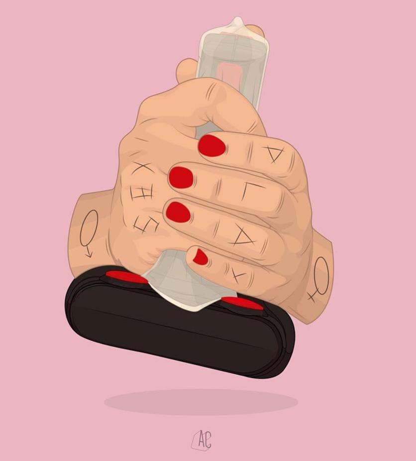 Ilustraciones de Álvaro Castro sobre corazones rotos 10