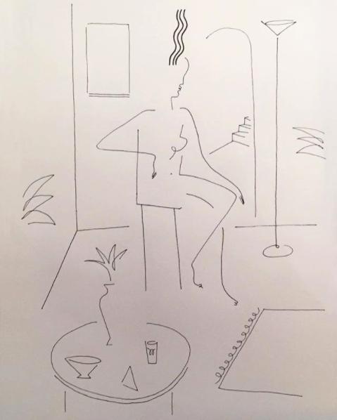Blanca Miró: 21 ilustraciones para entender la siluetas de una mujer 11