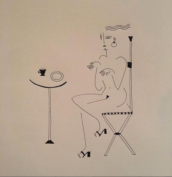 Blanca Miró: 21 ilustraciones para entender la siluetas de una mujer 14