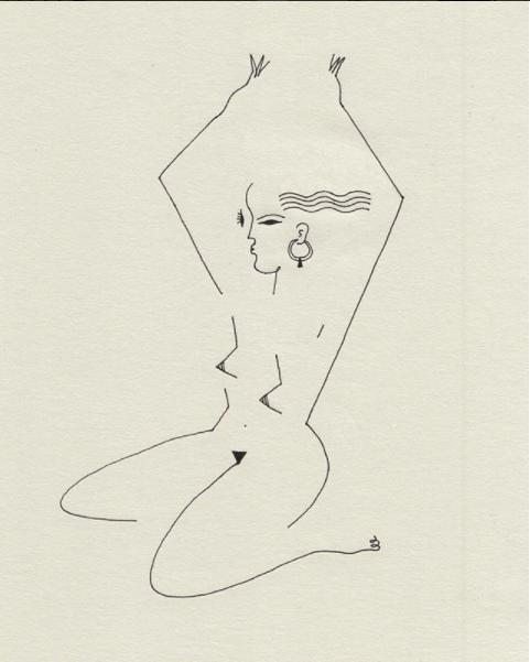 Blanca Miró: 21 ilustraciones para entender la siluetas de una mujer 5