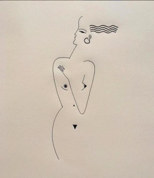 Blanca Miró: 21 ilustraciones para entender la siluetas de una mujer 16