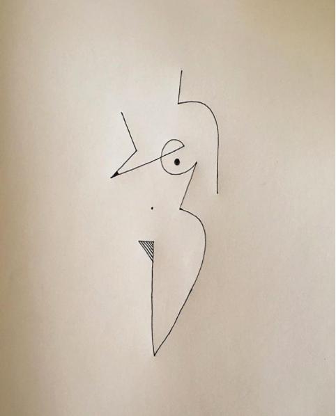 Blanca Miró: 21 ilustraciones para entender la siluetas de una mujer 3