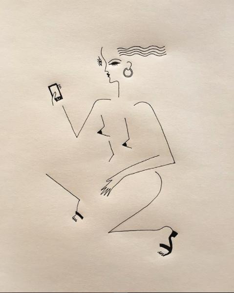 Blanca Miró: 21 ilustraciones para entender la siluetas de una mujer 17