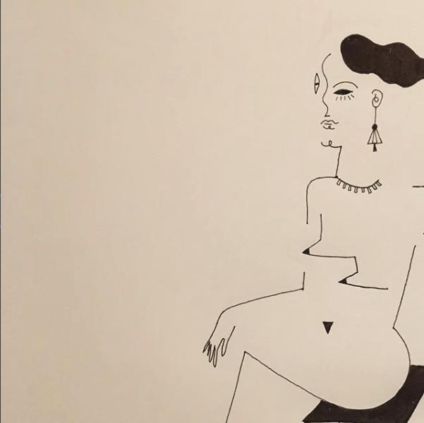 Blanca Miró: 21 ilustraciones para entender la siluetas de una mujer 9