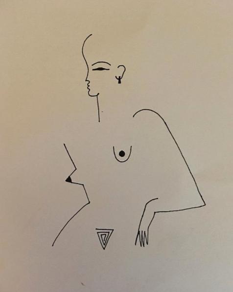 Blanca Miró: 21 ilustraciones para entender la siluetas de una mujer 6