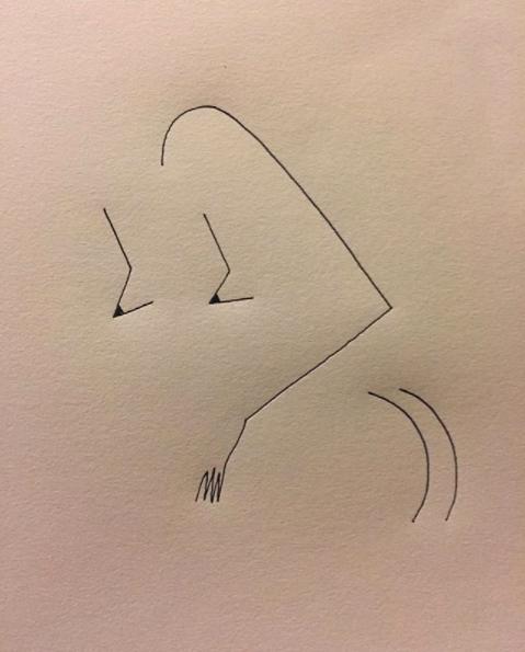 Blanca Miró: 21 ilustraciones para entender la siluetas de una mujer 1
