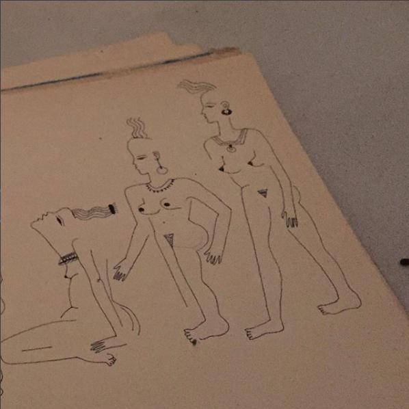 Blanca Miró: 21 ilustraciones para entender la siluetas de una mujer 7