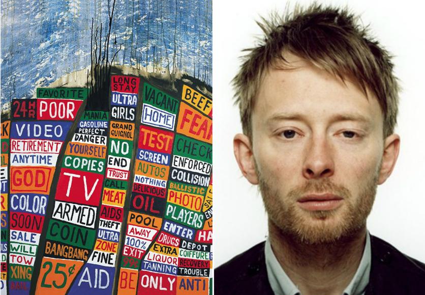 La evolución de Radiohead a través de los looks de Thom Yorke 3