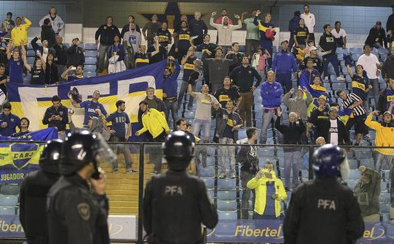 profugos argentinos caen por ir al estadio 1