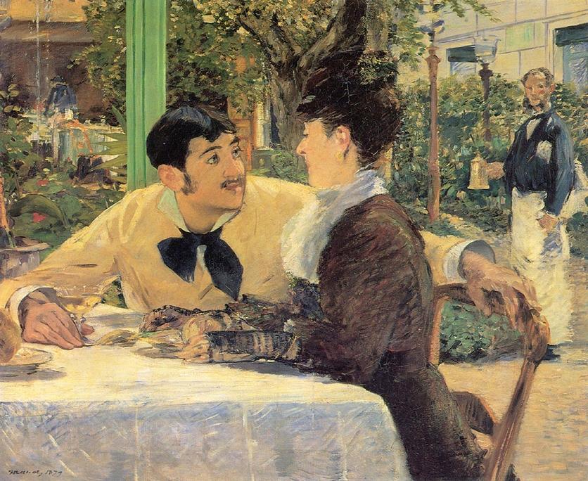 Pinturas que te harán recordar el momento en el que te enamoraste por primera vez 3