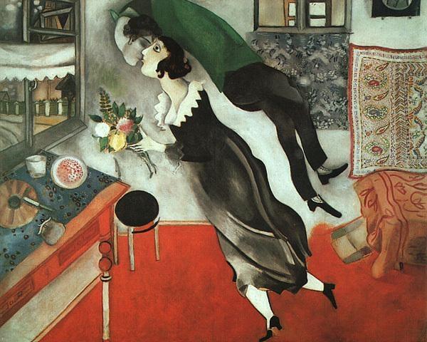 Pinturas que te harán recordar el momento en el que te enamoraste por primera vez 4