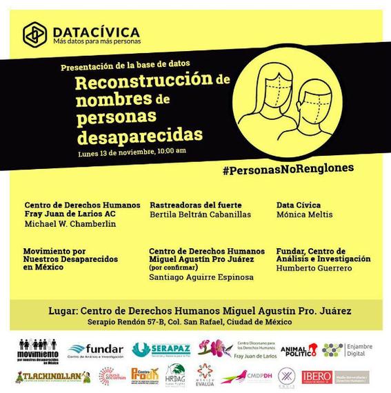 base de datos de personas desaparecidas en mexico 1