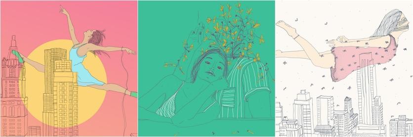 Ilustraciones de Lamiaa Ameen para recordar la historia de amor que tuvimos y me destrozó 1