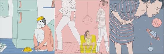 ilustraciones de lamiaa ameen 6