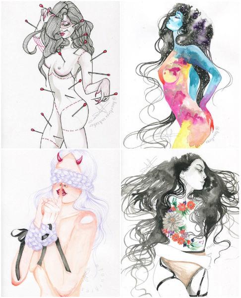 ilustraciones de cecily furlong 1
