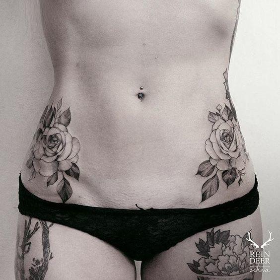 Tatuajes perfectos para mujeres sin curvas 6
