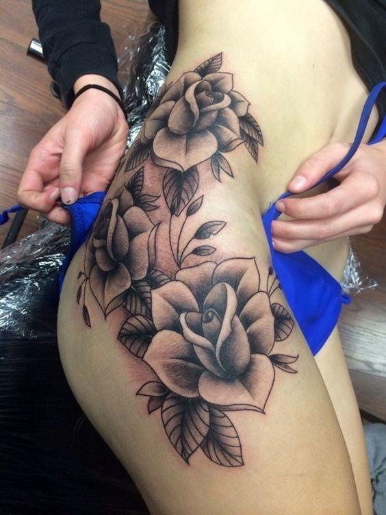 Tatuajes perfectos para mujeres sin curvas 12