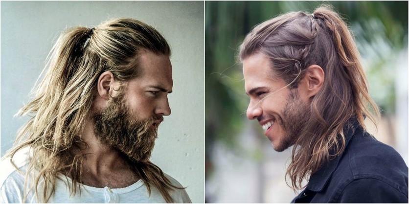 Peinados Con Estilo Para Hombres Con Cabello Largo Moda Moda