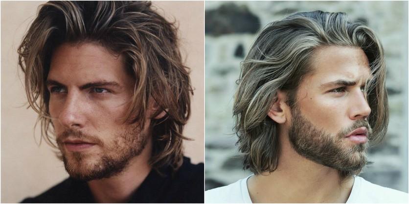 Peinados Con Estilo Para Hombres Con Cabello Largo Moda Moda - Peinado-hombre-largo