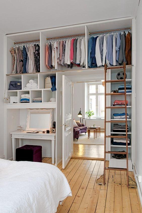 20 ideas para hacer un closet sin gastar 0