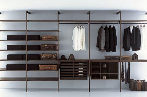 C mo hacer un closet sin gastar dise o for Ideas puertas de closet