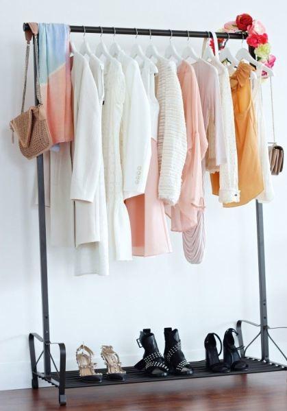 20 ideas para hacer un closet sin gastar 2