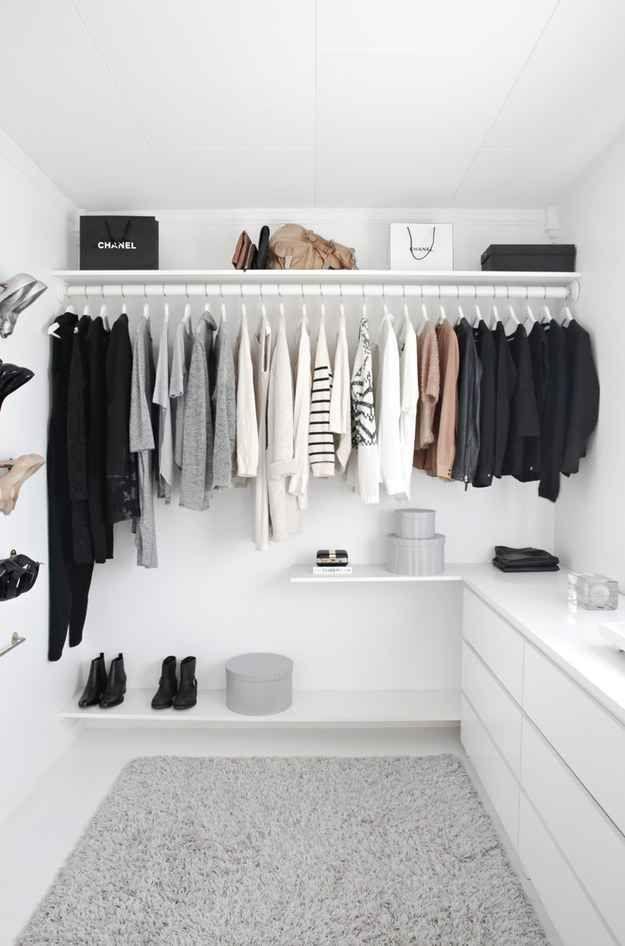 20 ideas para hacer un closet sin gastar 5