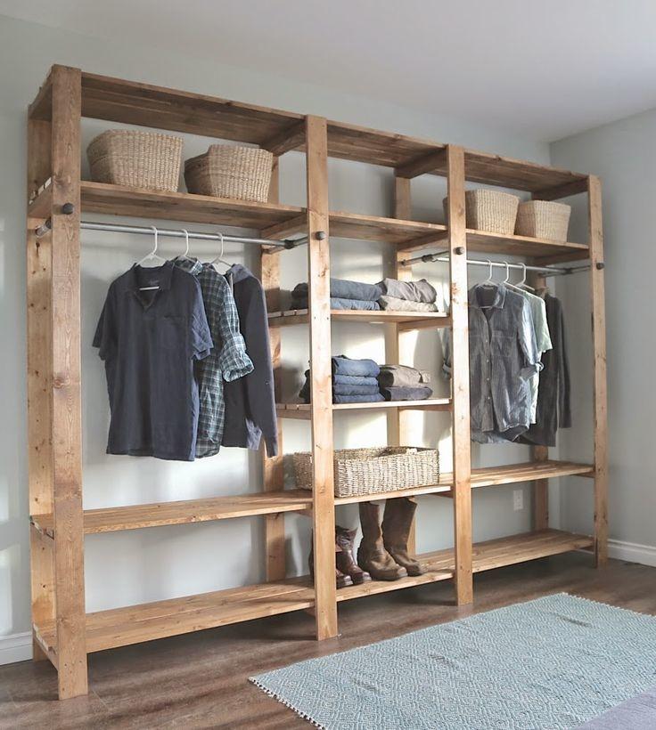 20 ideas para hacer un closet sin gastar 10
