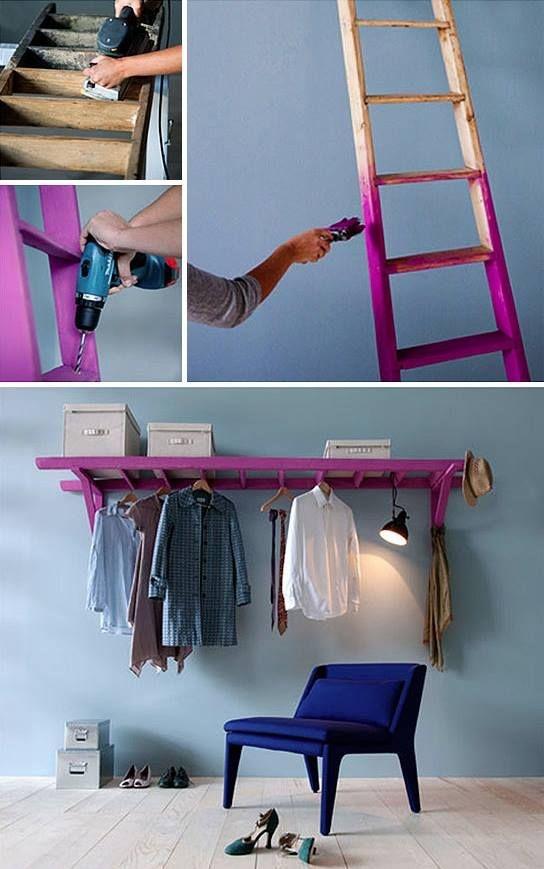 20 ideas para hacer un closet sin gastar 11
