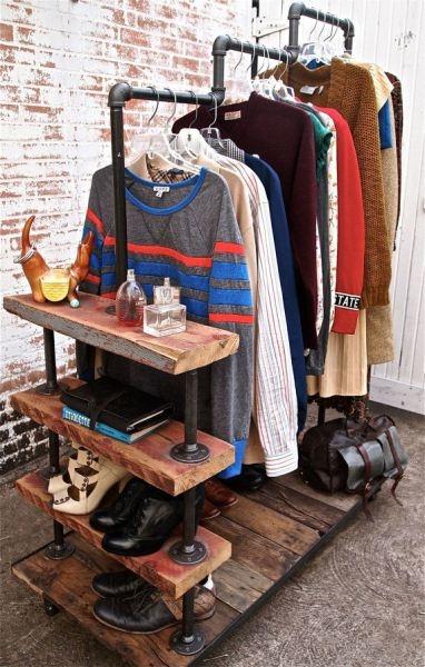 20 ideas para hacer un closet sin gastar 12