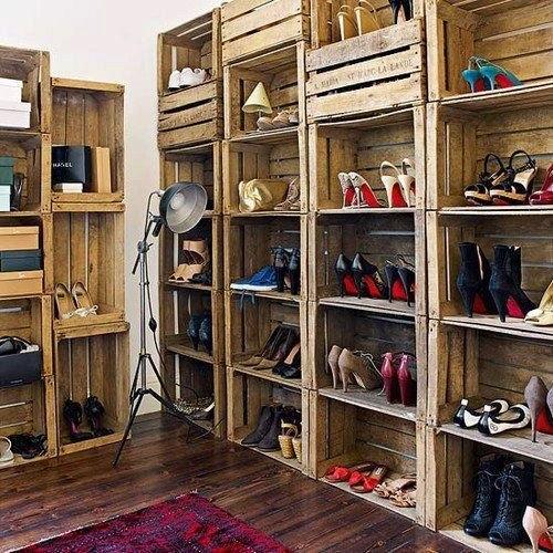 20 ideas para hacer un closet sin gastar 13