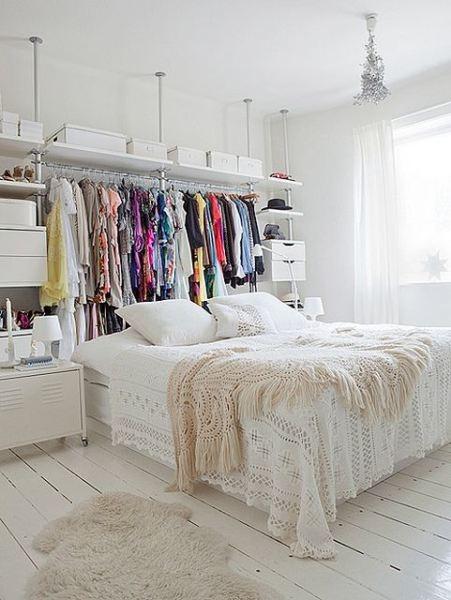 20 ideas para hacer un closet sin gastar 15
