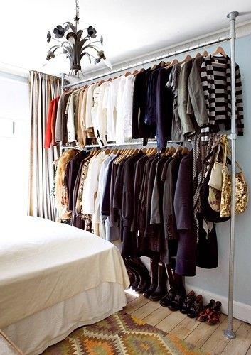 20 ideas para hacer un closet sin gastar 16