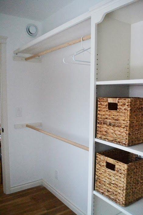 20 ideas para hacer un closet sin gastar 18