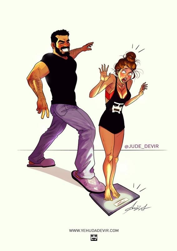 ilustraciones de yehuda devir 24