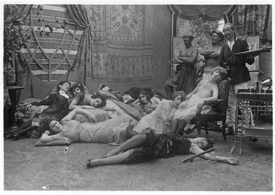 fotografias historicas de mujeres fumadoras de opio 8