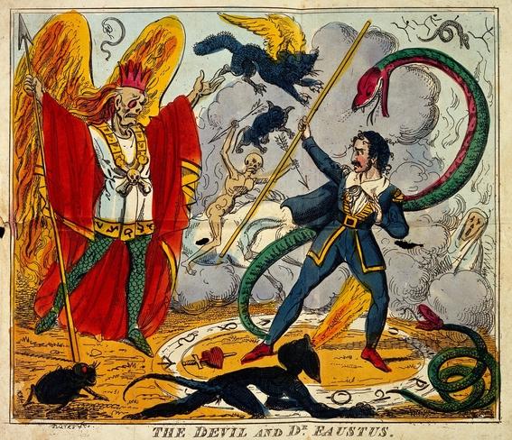 gerald mayo vs satan 1