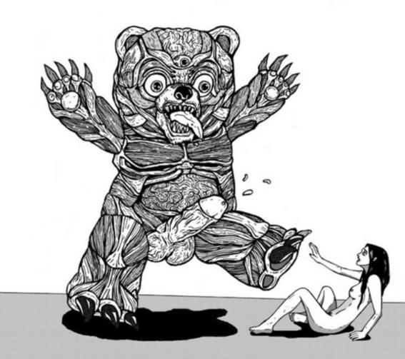 ilustraciones de tengu guro 2