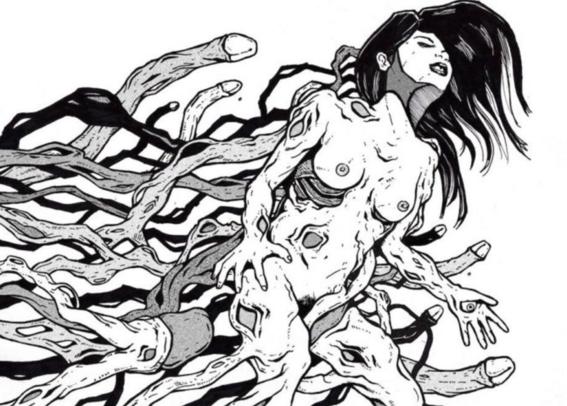 ilustraciones de tengu guro 8