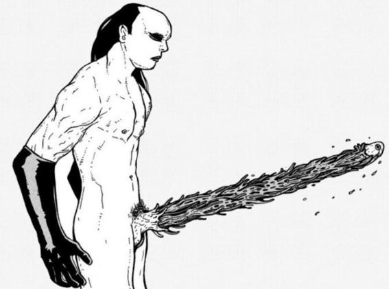 ilustraciones de tengu guro 13