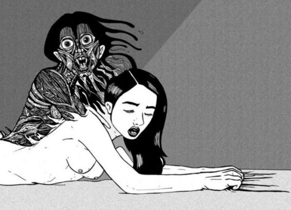 ilustraciones de tengu guro 12