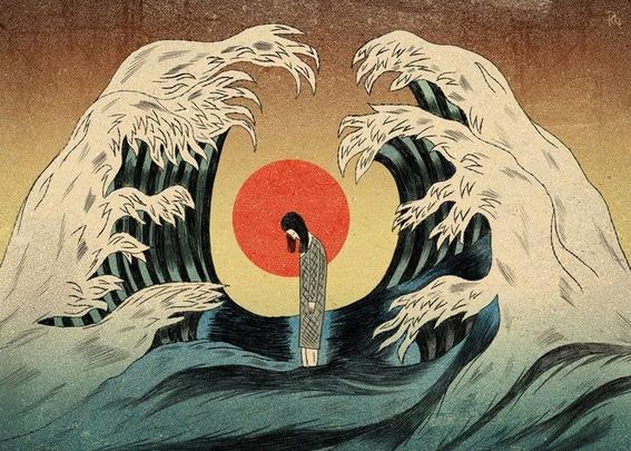 ilustraciones de tengu guro 19