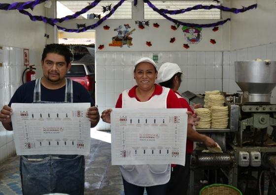 tortillerias mexicanas se unen contra la violencia de genero 3