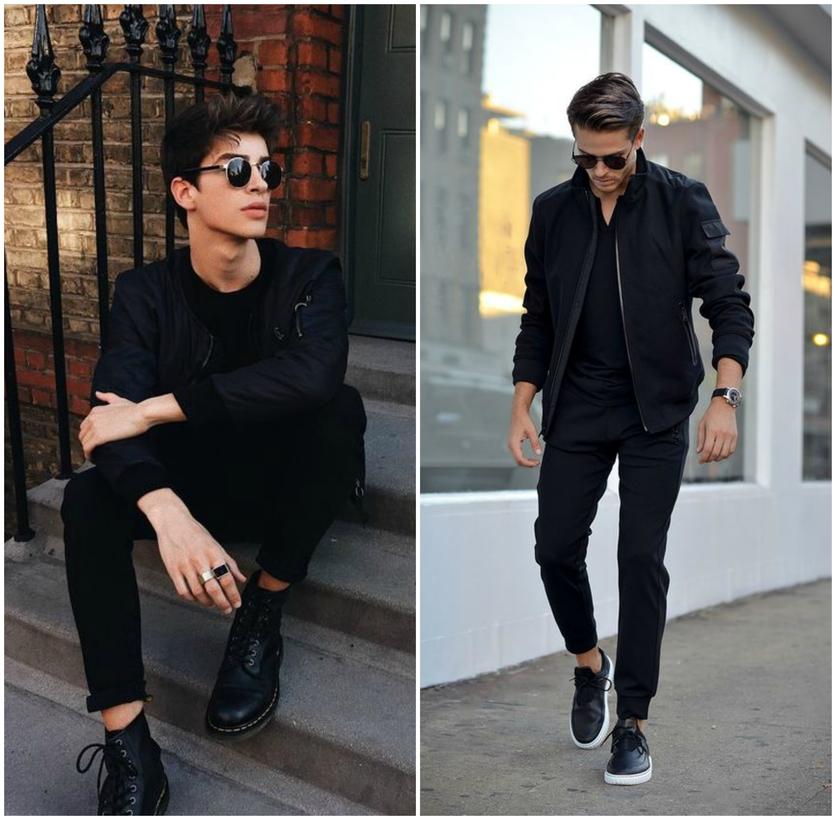 Moda Sólo Hombres Consejos De Visten Para 10 Que Negro q4x1CEEn